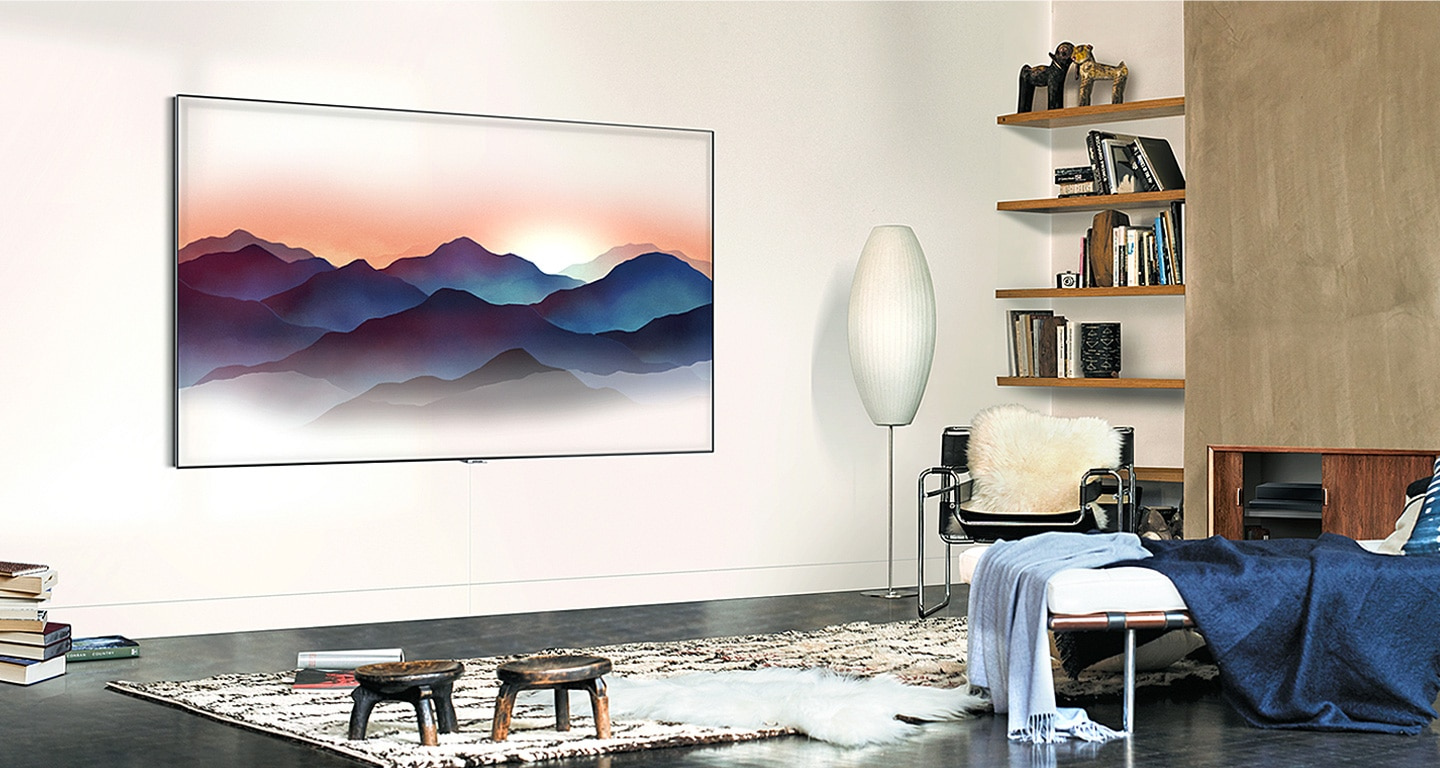 Samsung QLED TV QA55Q8CNAKXXL with new Ambient Mode