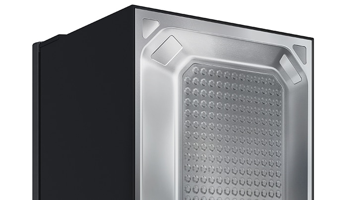 Samsung Refrigerators with Easy to Clean Back