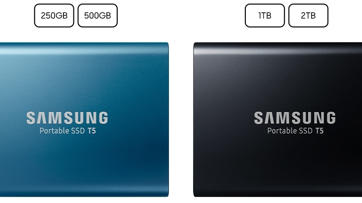 1 TB Samsung SSD comes in metallic finish