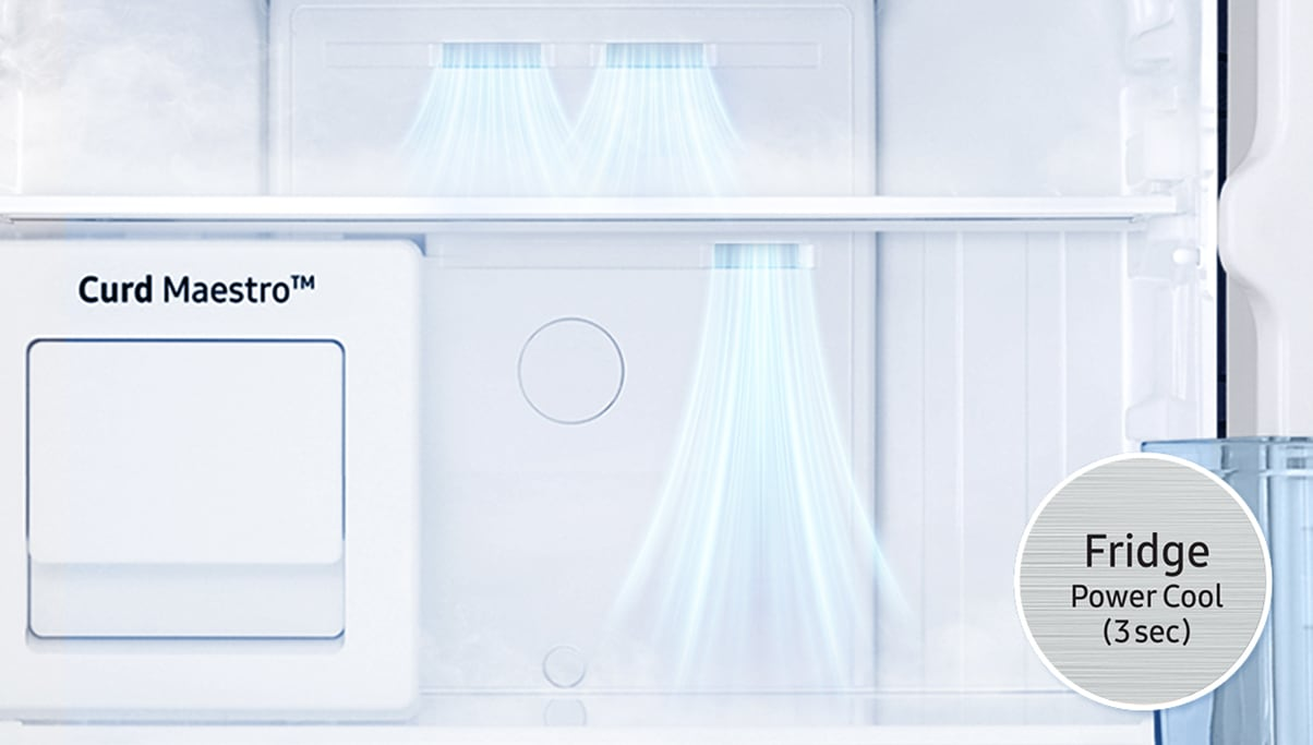 Samsung Top Mount Refrigerator - Power Cooling