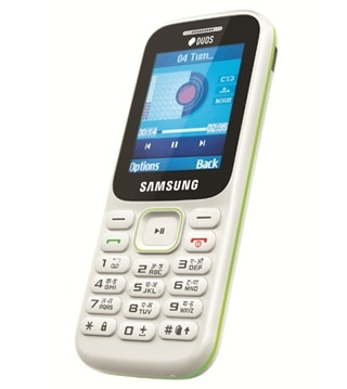 Samsung Guru Music 2 Mobile with 5.08 cm large display