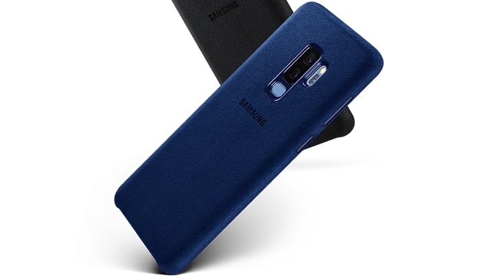 Shield you S9 Plus from Bumps with new Alcantara Cover