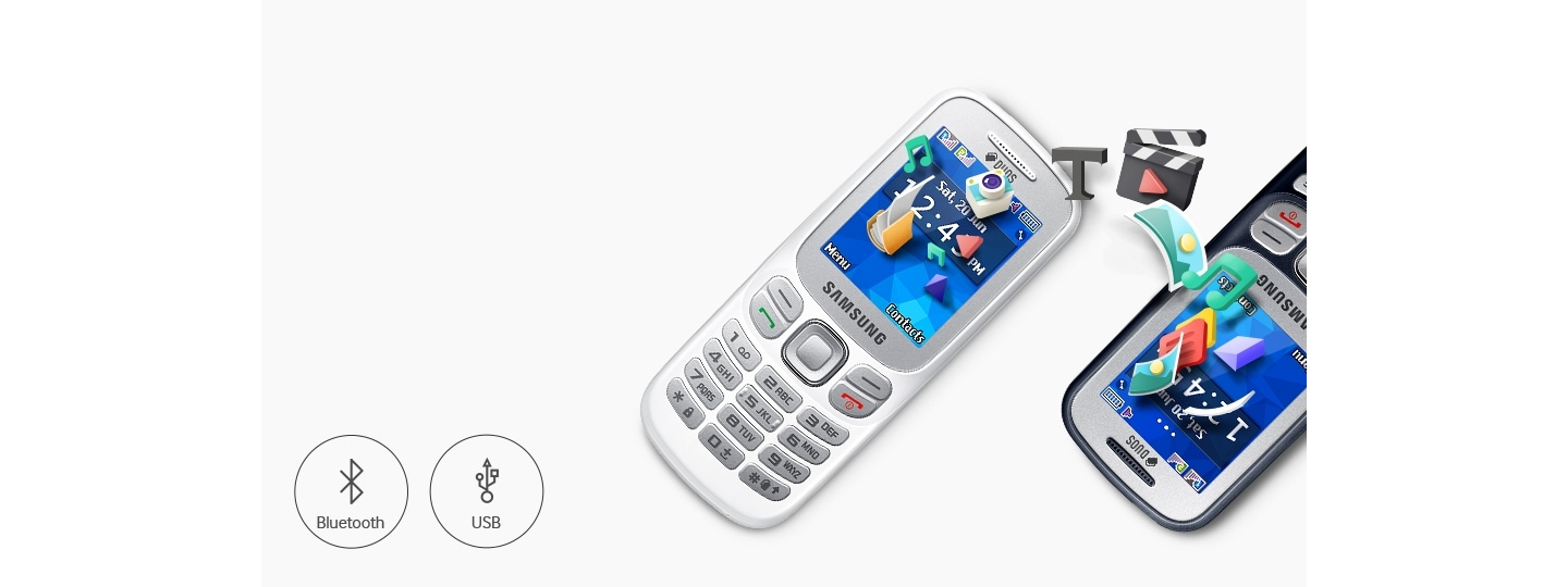 Samsung Metro 313 - Latest Multimedia phone with bluetooth connectivity