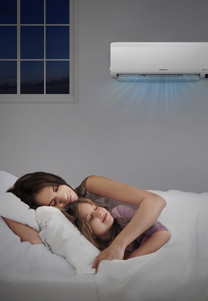 Samsung 3 Star rated Split Air Conditioner with Good Sleep mode