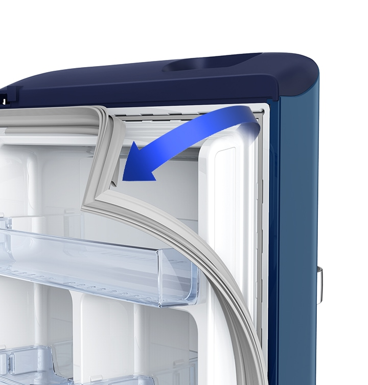 Samsung Refrigerator - Anti Bacterial Gasket(Stays more hygienic)