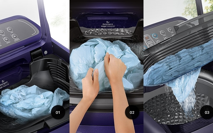 Latest 7.5 kg Top load washing machines with ActivWash Feature