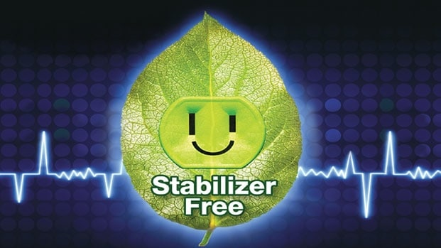 Stablizer Free Operation