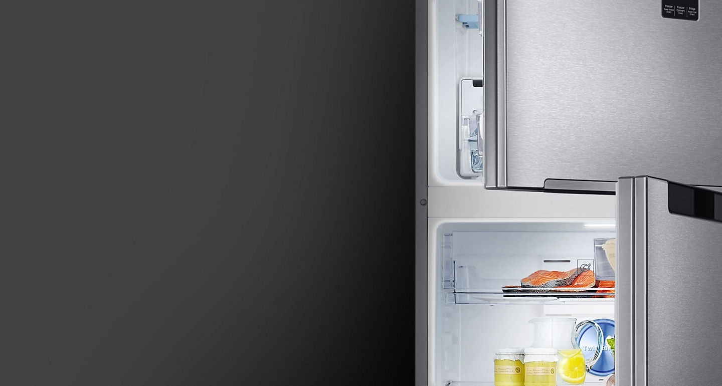 Samsung 2 door Fridge with High efficiency LED lighting