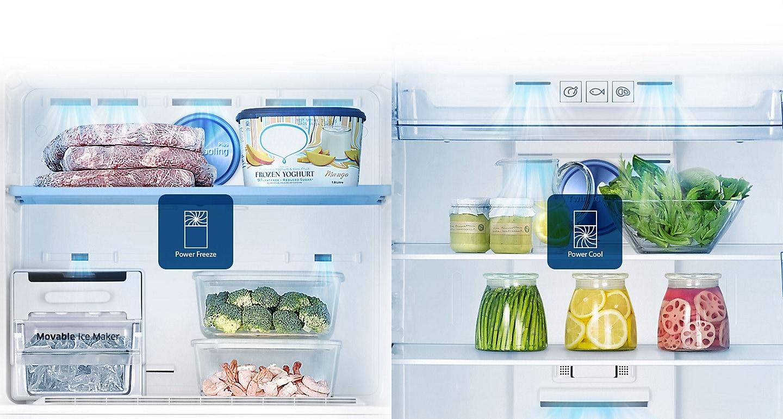 Fast cooling 345 L Top Mount Freezer Refrigerator