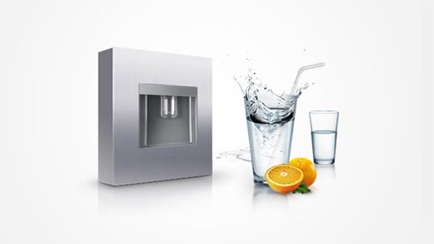 Fridge with Water Dispenser