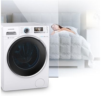 Noise less washing machine