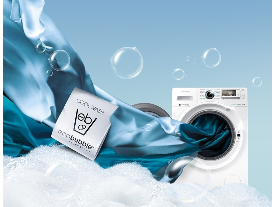 Washing machine that saves energy