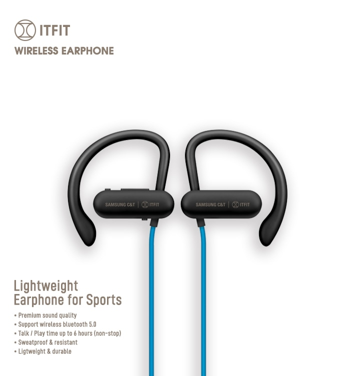 Itfit Wireless Earphone Be7 Red Black Price Reviews Specs Samsung India