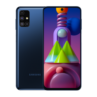 Galaxy M51 6gb 128gb Blue Price Specs Samsung India
