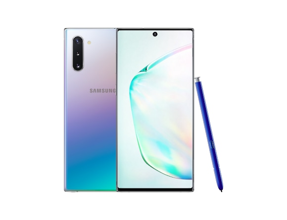 Galaxy Note10 Aura Glow Front