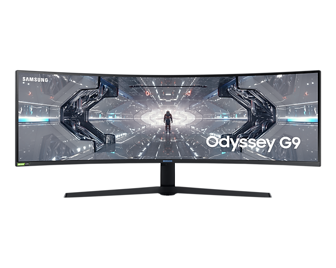 """Gaming Monitor with 32:9 aspect ratio display (49"""") LC49G95TSSWXXL"""