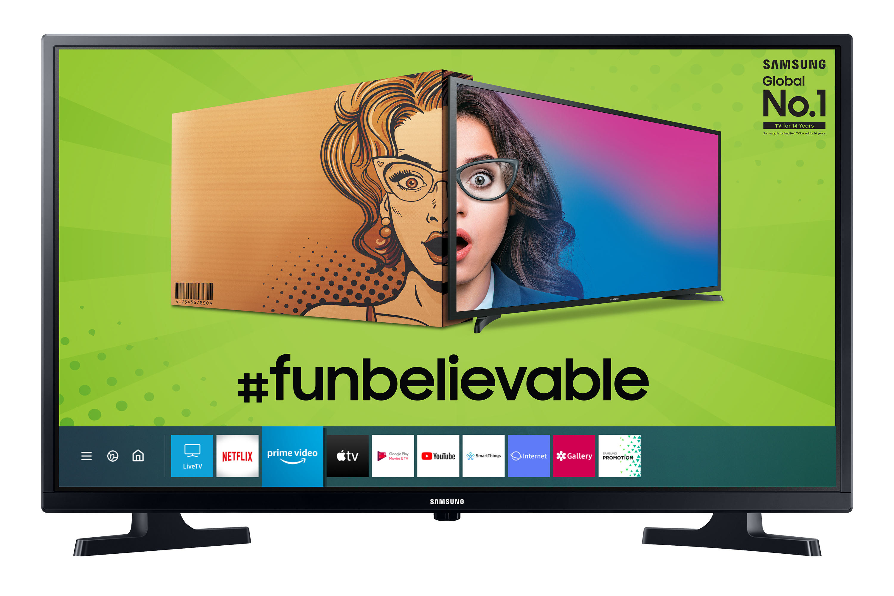 """80cm (32"""") T4350 Smart HD TV   Samsung Support India"""