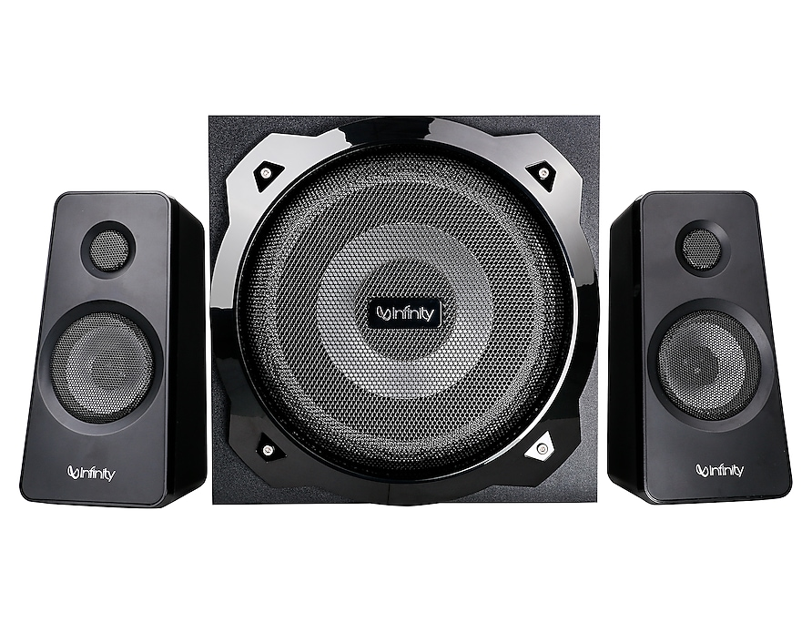 Infinity (JBL) HardRock 210 Deep Bass 2.1 Channel Multimedia Speaker