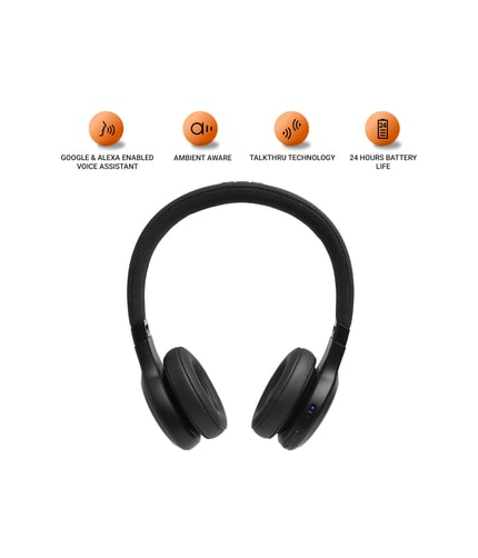 JBL T110 BT - Lifestyle Wireless In Ear Headphones (Black