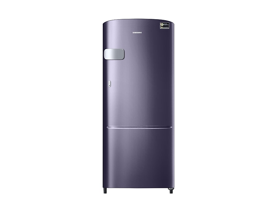 amsung 192 L 5 Star Direct Cool Single Door Refrigerator(RR20M1Y2XUT, Pebble Blue, Inverter Compressor)