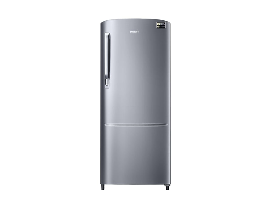 192 L Single Door 4 Star Refrigerator (RR20N172YS8/HL, Elegant Inox)