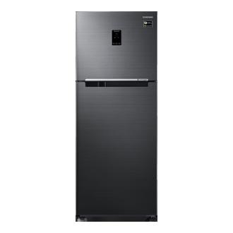 394l Top Mount Refrigerator 3 Star Black Inox Price Specs Samsung India