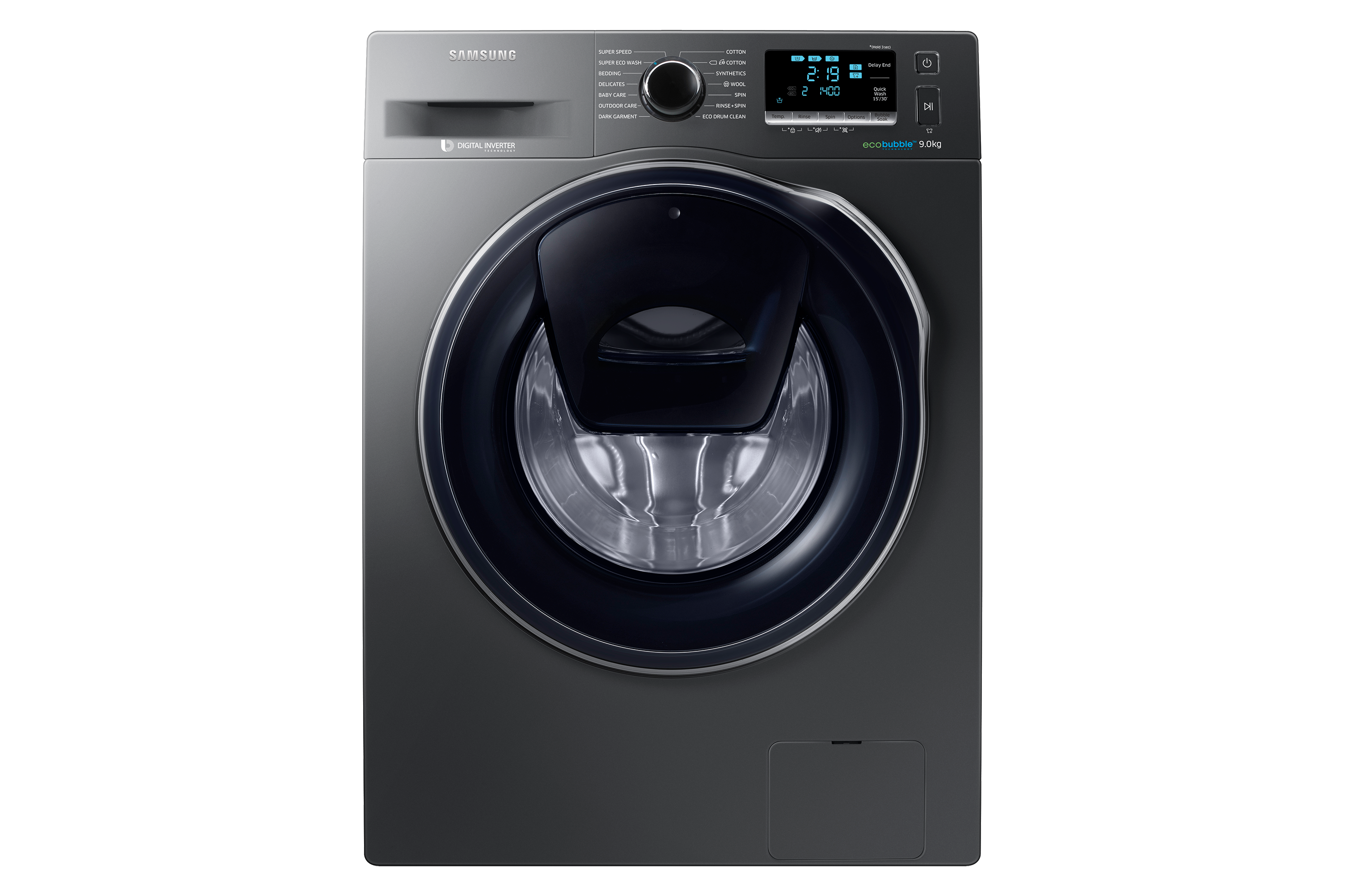 WW90K6410QX Front Loading with AddWash 9.0Kg