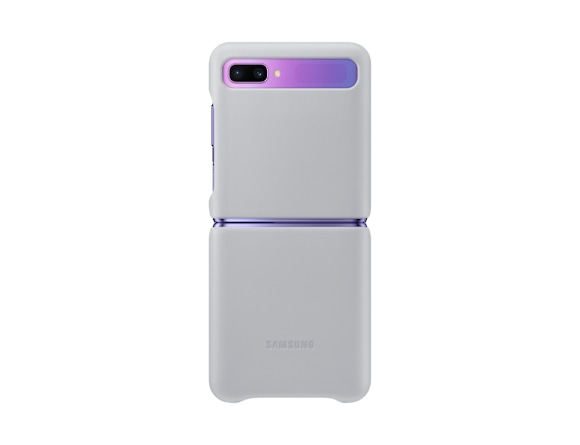 Galaxy Z Flip Leather Cover
