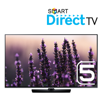 UA32H5570AU 81.28cm (32) H5570 Smart Direct TV (built in set top box) with Screen Mirroring, Quad Core, Motion Control Ready Full HD LED TV