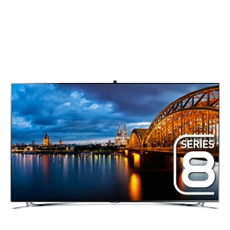 139.7cm (55) F8000 Smart Interaction with Quad Core Processor & Micro Dimming Ultimate 3D Full HD LED TV