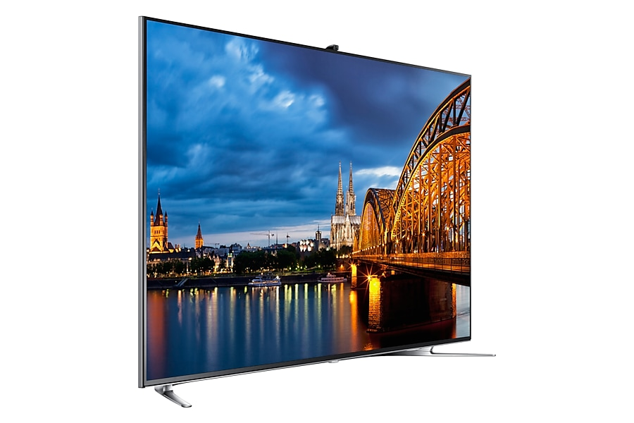 165.1cm (65) F8000 Smart Interaction with Quad Core Processor & Micro Dimming Ultimate 3D Full HD LED TV