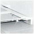 قفسه شیشه ای با تزیین فلزی