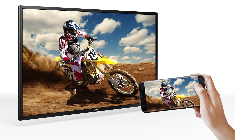 انعکاس هوشمند تلویزیون سامسونگ مدل 49N5880