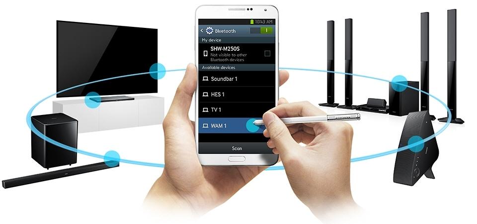 با استفاده از هر دستگاه پخش موسیقی که میخواهید و در هرکجای خانه که هستید موسیقی مورد علاقه تان را پخش کنید