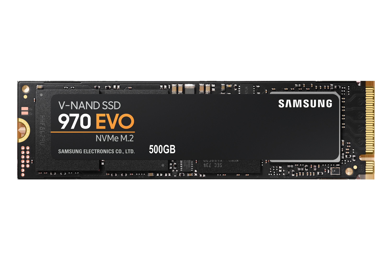 970 EVO NVMe M.2 SSD 500 GB