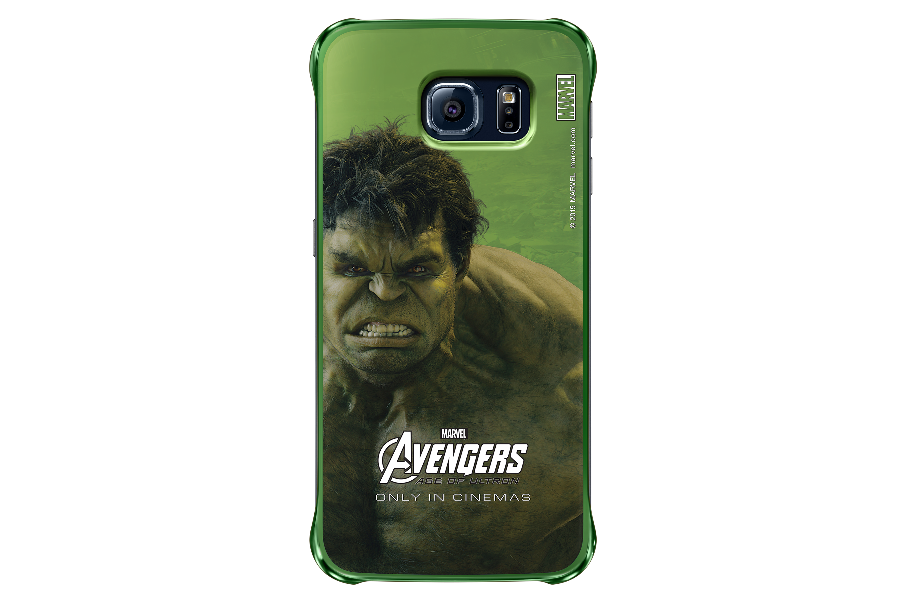 Galaxy S6 Clear Cover - Avengers Edition