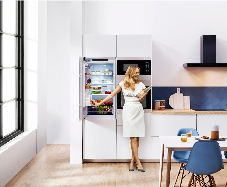 Conservazione ottimale sia nel frigo che nel freezer