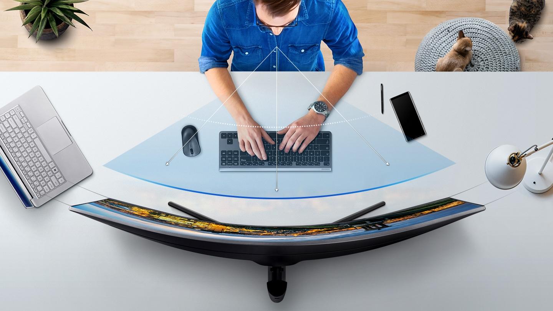 Curvatura ergonomica