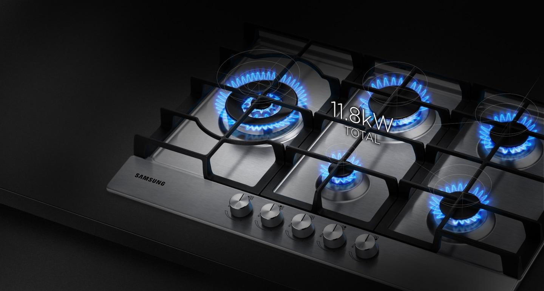 Tutta la potenza del calore per cuocere più velocemente