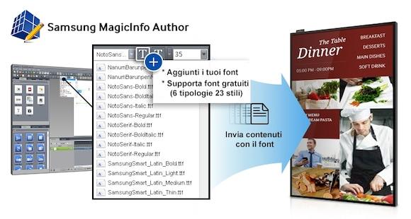 Trasforma i messaggi del tuo business con un semplice strumento per la creazione dei contenuti, che include font gratuiti, pratici sticker, effetti dinamici e widget dedicati alla meteorologia.
