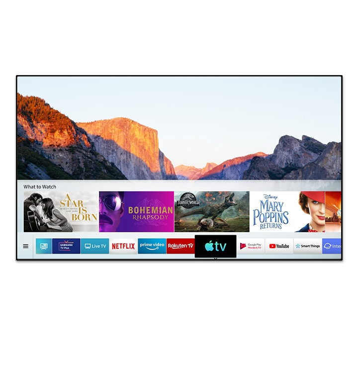I TV UHD Samsung incontrano la nuova App Apple TV