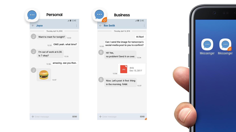 Chat separate per casa e lavoro