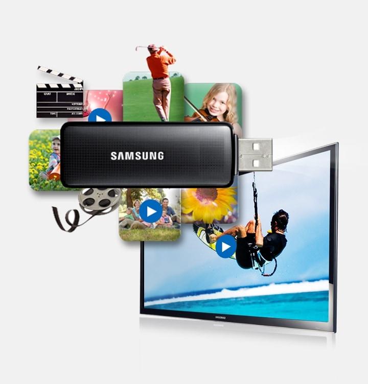 Guarda i film direttamente via USB