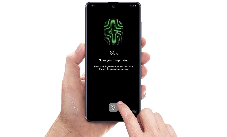 Tutta la sicurezza dell'impronta digitale