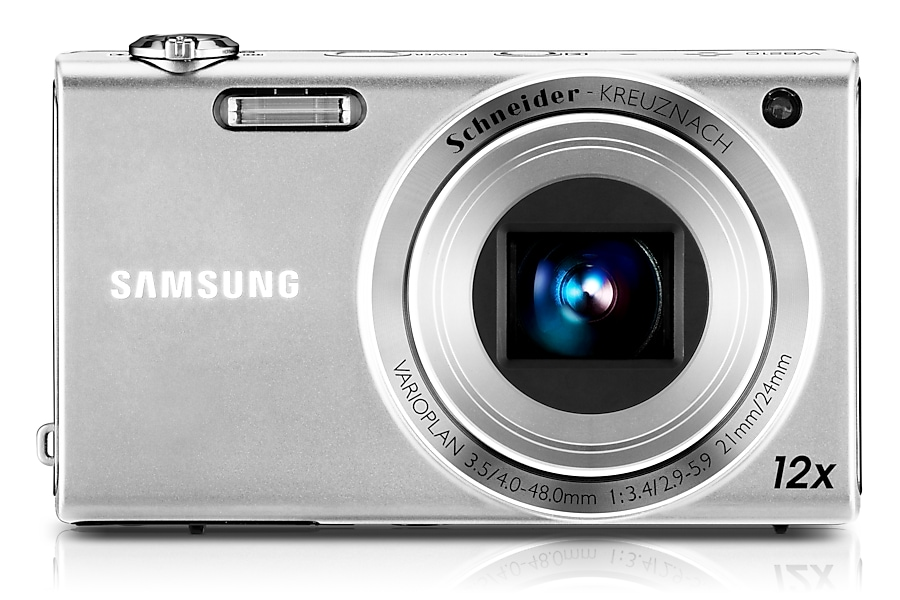 SAMSUNG WB210 Vista frontale