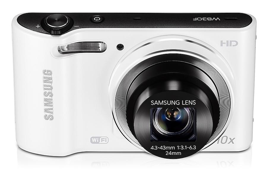 SAMSUNG WB30F Vista dinamica Bianco