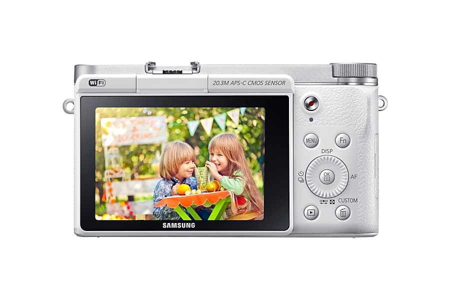 NX3000 Back white