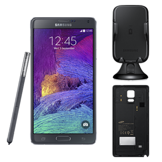 F-NOTE4WCAR GALAXY Note 4 +<br/>S Charger Car Kit