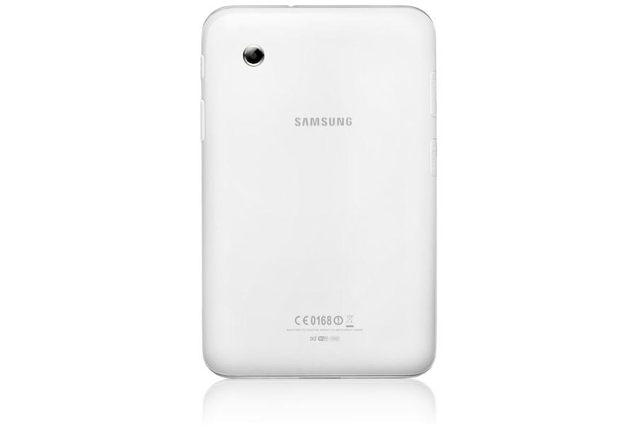 Galaxy Tab 2 (7.0, Wi-Fi) P3110 Vista posteriore Bianco