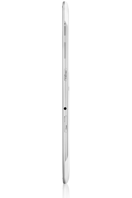 GT-P5110 Vista sinistra Bianco